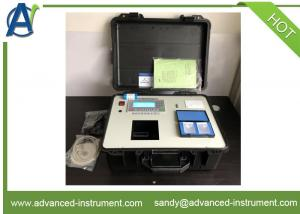 China Portable Infrared Oil Content in Water Analyzer by Extraction Method on sale