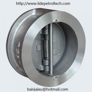 China WAFER DOUBLE DISC CHECK VALVE on sale
