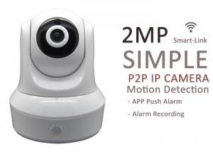 China 64G SD Card Onvif Full HD IP Cameras 2 Way Audio , Wireless IP Camera Night Vision on sale