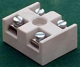 China 16 kv / mm water proof Ceramic pluggable porcelain terminal block for  instrument TV on sale