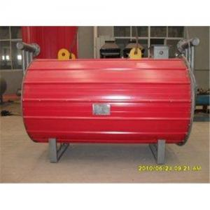 China natural Circulation gas fired horizontal thermal oil heating boilers 850kw on sale