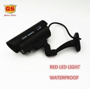 China GS Fake Dummy Camera CCTV Surveillance Camera Waterproof Outdoor Indoor Shop Home Security With LED Light Fake Camera on sale