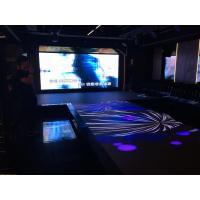 Anti - Skid Vivid Video Interactive Car Led Video Dance Floor For Wedding 100 - 240V