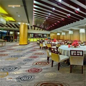 China Axminster Banquet Hall Carpet 80% Wool 20% Nylon Antistatic Feature on sale