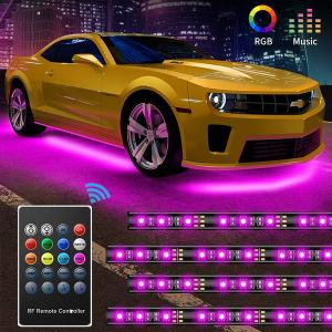 China 30w 12v RGB 5050SMD Car Underglow Lights Remote Control on sale
