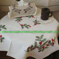 home textile,Embroidery Table cloth, cushion cover