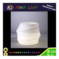 Wireless Remote Control Rechargeable Colorful LED Flower Pot