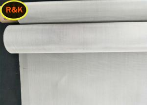 China Flexible 12x12 Mesh Screen , Stainless Steel Wire Mesh SUS 100 Micron on sale