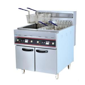 9kw 380v freestanding twin basket kitchener triple basket deep fryer rh cateringequipments sell everychina com Portable Deep Fryers Commercial Propane Deep Fryer