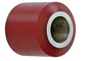 China OEM Polyurethane Drive Rollers / Industrial Small Polyurethane Wheels on sale