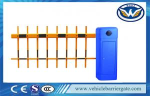 China Intelligent 2 Fence Arm Parking Lot Barrier Gates For Parking Lot Management on sale