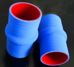 China Silicone hump hose with matt surface on sale
