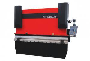 China Guillotine CNC Hydraulic Press Brake For Sheet Metal Pruning / Blending on sale