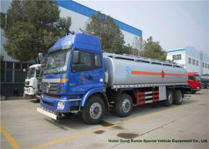 China Foton Auman 8x2 Fuel Oil Truck For Diesel Oil Road Transport 27000 - 30000L on sale