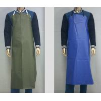 Customized Waterproof Industrial Protective Clothing Aprons PVC Leather Fluid Resistant