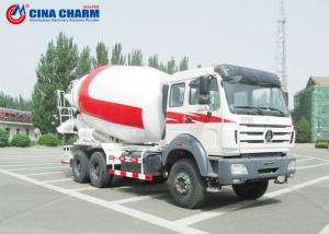 China 12 Cubic Meters Cement Mixer Truck Ready Mix Air Pressure Water Supply on sale