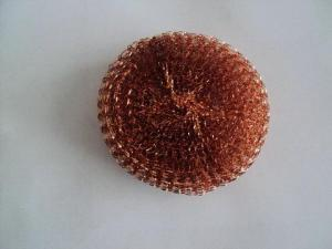 China Mesh Copper Scourer on sale