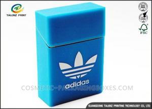 China Luxury Covering Cigarette Packaging Box Embossing Printing Handling OEM / ODM on sale