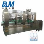 CE Fully Automatic Pet Bottle Filling Machine For Mineral / Pure Water
