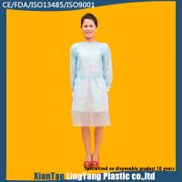 PP Impervious Disposable Medical Gowns , Disposable Sterile Gowns Anti Alcohol