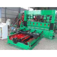 China High Speed Expanded Metal Machine For 0.4mm - 10mm Thickness Material on sale