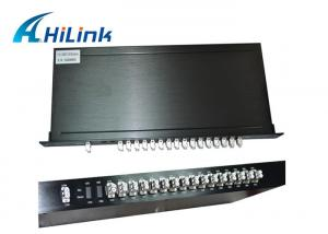 China Customized CWDM 16 Channel Mux Dual Fiber 1U Rack Mount Low Insertion Loss on sale