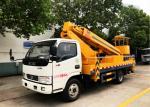 Dongfeng 20m Aerial Platform Truck , High Altitude Platform Bucket Lift Truck