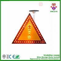 Solar flashing led road sign boards for highway,Solar Powered LED Pedestrian Traffic Signs/ Triangle traffic sign