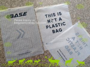 China Bio degradable corn starch PLA Slider Zipper Bags, Compost Slider zipper bags, Eco Friendly zipper sldier, Biodegradable on sale