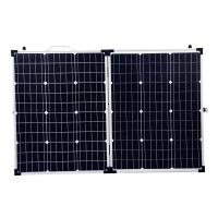 China Lightweight Waterproof Flexible Folding Solar Panels 18v 100w With MC4 Connectors on sale