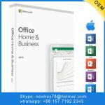 Microsoft Home & Business 2019  / Activation Office Home And Business 2019 For Pc