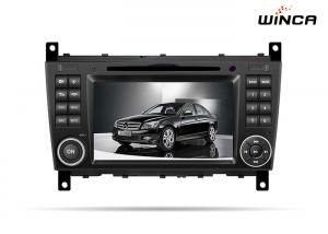 China 7 Size Digital Mercedes C Class Sat Nav Unit , Android Mercedes Benz Radio Gps on sale