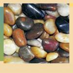 Естественные отполированные камешек/камень камешка