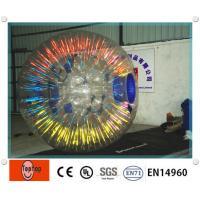 China Équipement zorbing gonflable rougeoyant populaire de boule/boule humaine de hamster avec le logo d'OEM on sale