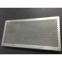 China perforated metal sheet 1.0mm thickness 1.5mm hole size  1000mm width 2000mm length on sale