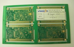 China Multilaye Rigid-flex HDI PCB 8 Layer For Digital Video Recorder , Green Solder Mask on sale