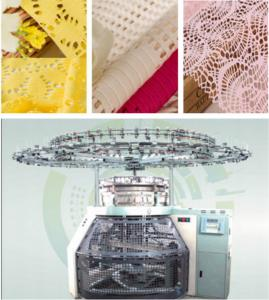 China Computerized Mesh Mini Jacquard Machine For Single Jacquard Composite Fabric on sale