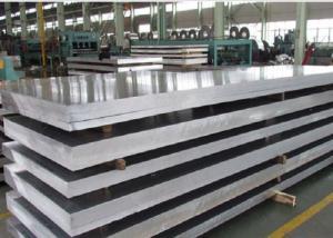 China Mill Finish Aluminum Sheet , Aircraft Aluminum Alloy With Good Machinability on sale