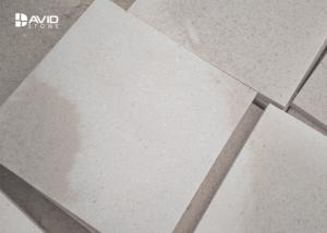 China White Smooth Sandstone Wall Tiles , Sandstone Cladding Panels Stable Structure on sale