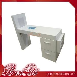 Modern Manicure Table Vacuum And Nail Salon Furniture Cheap White Color For Sale Manufacturer From China 107848678