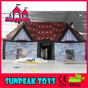 China TEN-2069 Inflatable Halloween House Hot Sale Movable Tent on sale