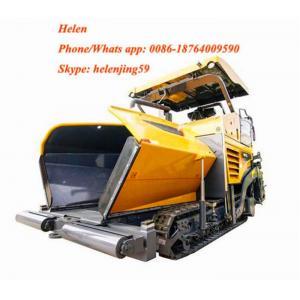 China asphalt paver machine 7.5m asphalt paver finisher RP753 asphalt paver levelling sensor on sale