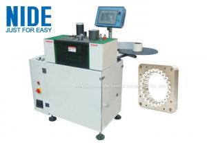 China Automation Slot Insulation Paper Inserting Machine For Induction Motor Stator on sale