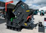 Marble Ore Gravel Impact Fine Crusher High Speed Easily Operated Black Color