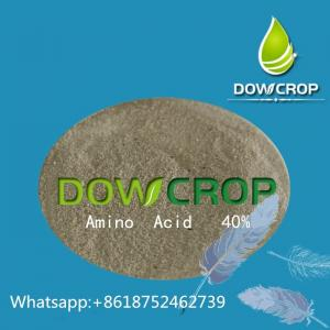China Dowcrop  hot  sale 100%Water  Soluble Fertilizer  Amino Acid  Yellow  Powder 80% Plant  Source on sale