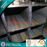 API K55 Q235 Carbon Steel Square Tubing ERW , Galvanized Gas Pipe