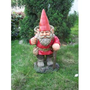 China Promotional unique design Funny Garden Gnomes for home decoration on sale
