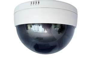 China 420TV Lines D1 / CIF / QCIF Dome External IP Camera of DC 12V on sale