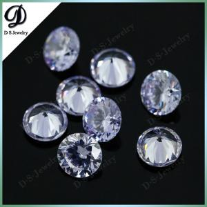 China perfect cutting colored lavender cubic zircon gem stone on sale