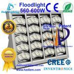 セリウムが付いているLEDの洪水ライト560-600W、RoHSはベストの冷却の効率のフラッドライト中国製証明し、